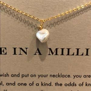 """""""One In A Million"""" Keshi Pearl Pendant - NEW"""